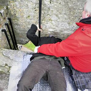 Blarney stone, kiss, blarney castle, Cork, ireland