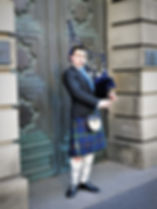 Piper, Edinburgh, Scotland