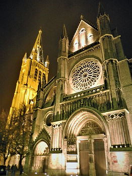 St Martin's cathedral, ypres, belgium
