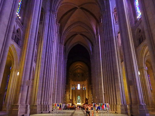 cathedral of saint john the divine, harlem, new york city