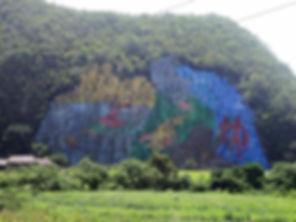 mural de la prehistorica, vinales, cuba