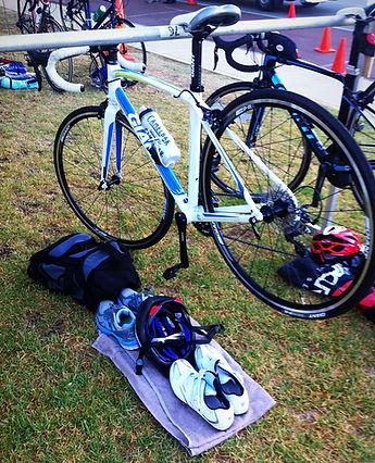 triathlon set up transition australia