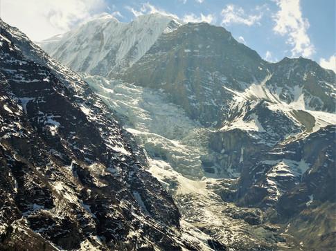 Gangapurna Glacier