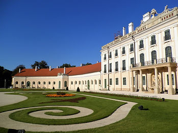 Esterhazy palace, sopron, hungary
