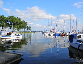 Lake Niegocin, Gizycko, poland