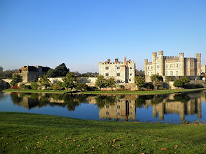 Leeds Castle, Maidstone, england