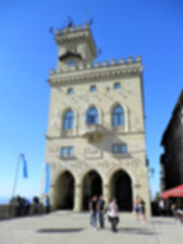 Piazza del Liberta, San marino, italy