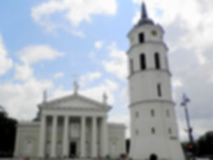 Cathedral and Belfry, vilnius, lithuania