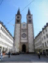 Dom St Kilian, church, wurzburg, germany