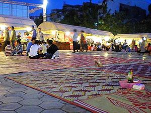 night market, phnom penh, cambodia
