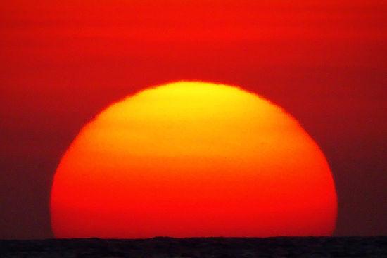 roatan sunset honduras