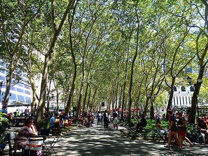 bryant park, new york city