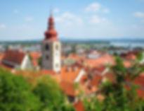 ptuj, castle, slovenia, view