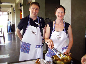 cooking class thai food
