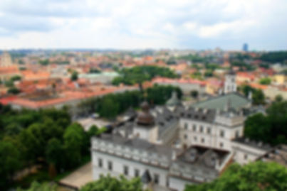 view, vilnius, lithuania