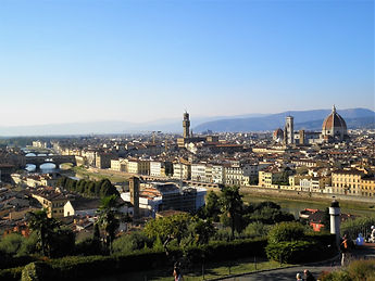 piazzale Michaelangelo, view, florence, italy