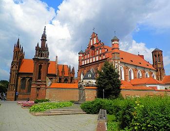 St Anne's church, vilnius, lithuania