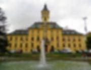 Town Hall, fountain, szeged, hungary
