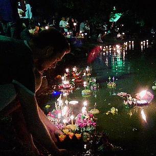 bangkok, thailand, loy krathong