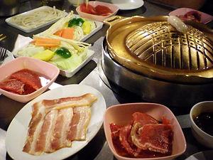 bangkok bbq dinner thailand