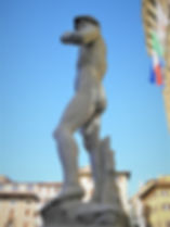 David, Piazza della Signoria, michelangelo, florence, italy