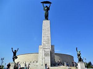 Liberation Monument, Gellert Hill, budapest, hungary