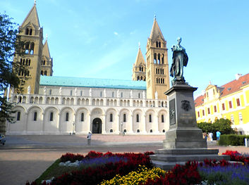 St Peter and Paul Basilica, cathedral, pecs, hungary