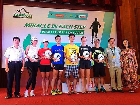 race, running, trophy, winner, ultra, vietnam