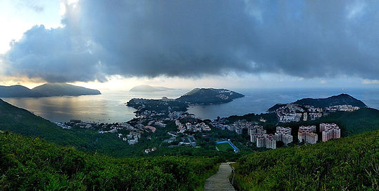 wilson trail, hong kong, hiking, view, mountains, sea
