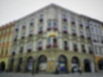 Dolni namesti, olomouc, Czech republic
