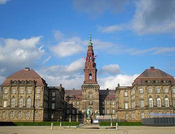denmark, copenhagen, christiansborg palace