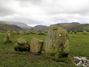 Castlerigg stone circle, lake district, england