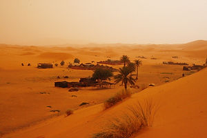sahara desert, morocco, villages