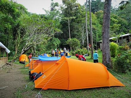 kokoda track, kokoda trail, hoi, camp, hike, trek, papua new guinea