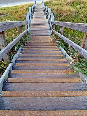 stairs running