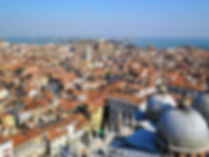 View from Campanile, piazza san marco, venice, italy