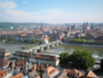 View from Fortress Marienberg, wurzburg, germany