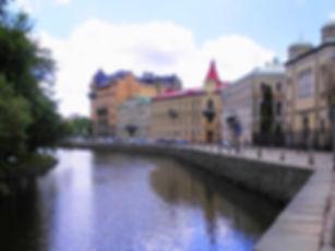 gothenburg, sweden, canal