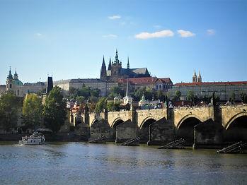 Prague castle, Charles bridge, czech republic