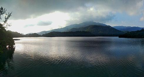 wilson trail, hong kong, hiking, mountains, shing mun reservoir