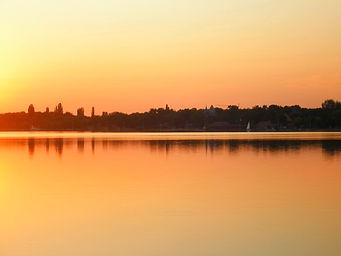 Sunset, Lake Palic, subotica, serbia