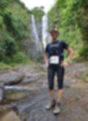 running, ultra, race, trail, philippines, waterfall