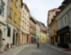 ljubljana, slovenia, street