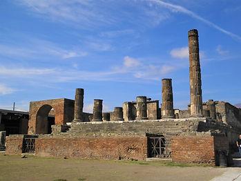 Temple of Jupiter, pompeii, italy, ruins