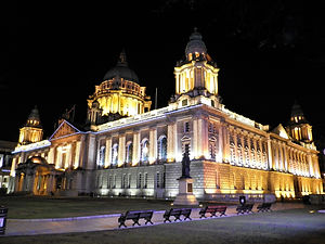 City hall, belfast, ireland