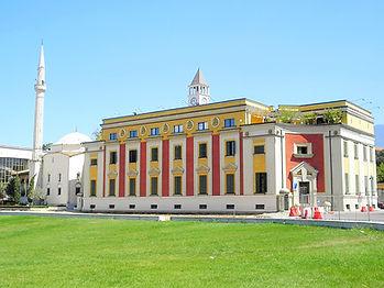 Skenderbej square, tirana, albania