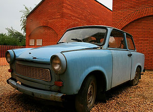 trabant, hungary, car