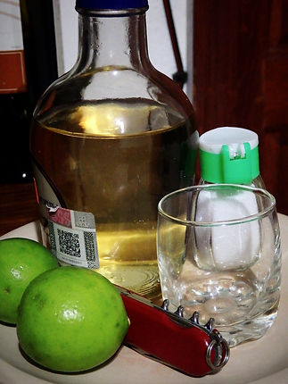 tequila lime salt