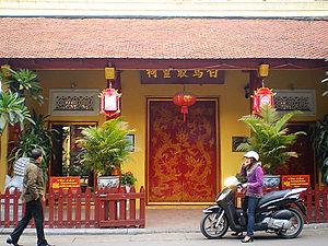 temple, hanoi, vietnam