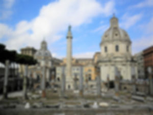 Trajan's Forum, rome, italy, ruins
